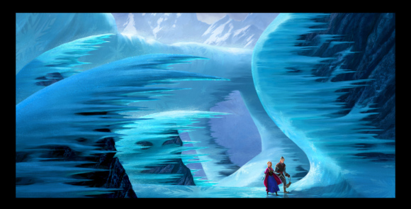 It's Frozen Outside – Disney's 53rd animatedfeature.