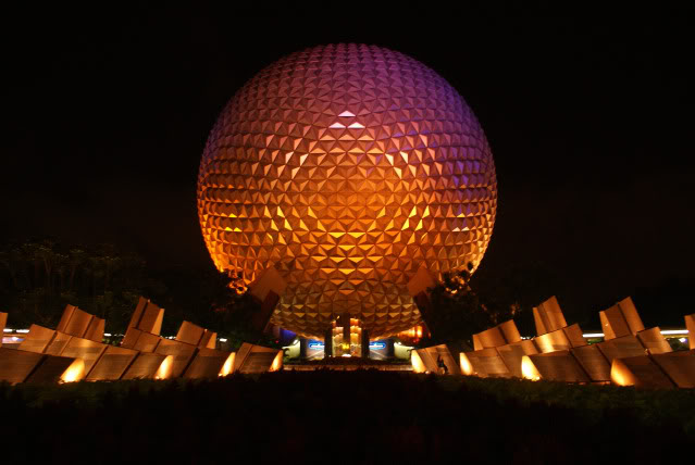 Night in Epcot