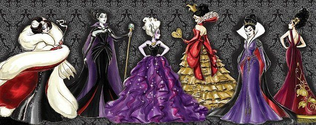 Disney Villains Varnish Collection