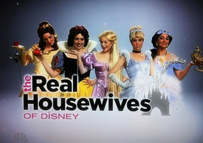 Sunday Funnies: Saturday Night Live and the Real Housewives ofDisney