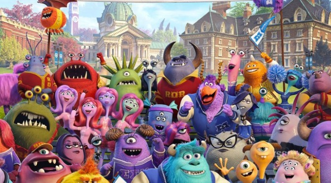 New Monster's University Poster