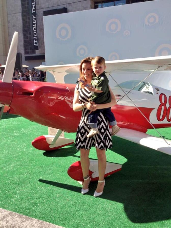 Crowd Flies High at Disney's 'Planes' Premiere