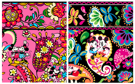 Date Announced: The Disney Collection by Vera Bradley coming to Walt Disney World!