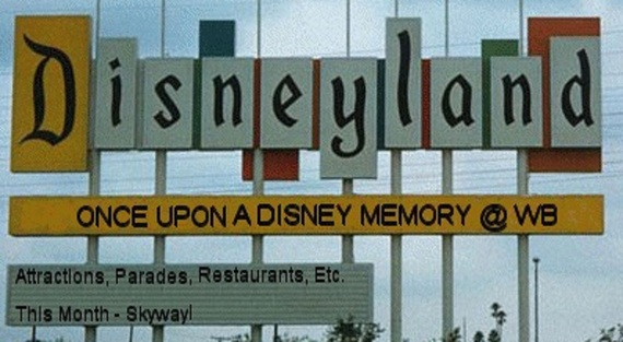 Once Upon A Disney Memory –Skyway!