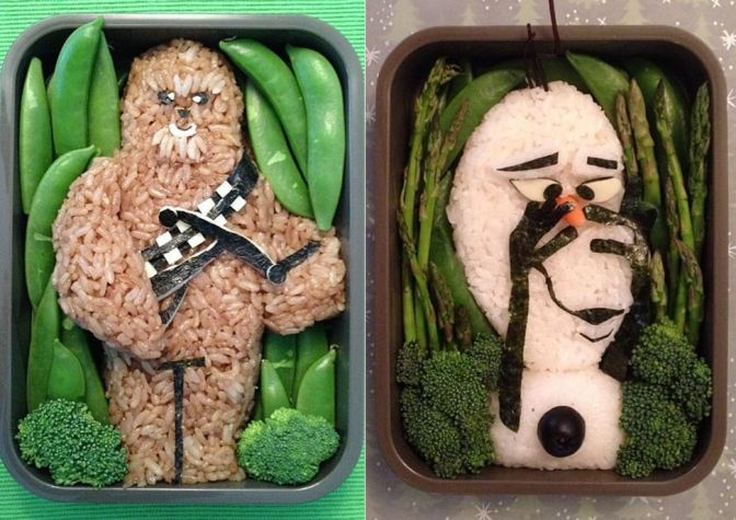 These Star Wars and Disney-themed bento boxes will put your lunchbox to shame