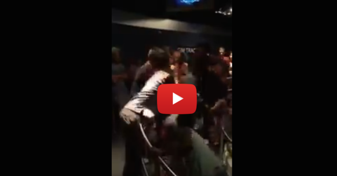 It wasn't a world of laughter as these three women brawl while in line at Disney as little kids watch