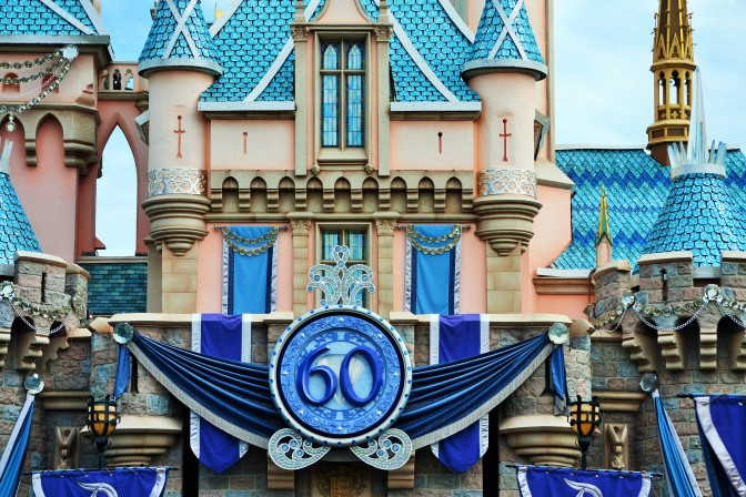 A Day at Disneyland's 60th Anniversary Celebration
