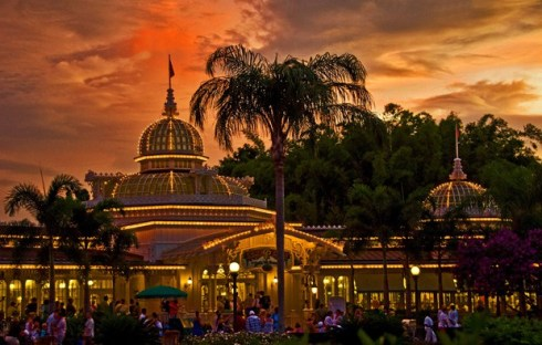 crystal-palace-sunset-magic-kingdom-walt-disney-world
